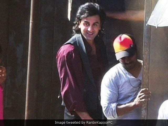 Ranbir Kapoor As Young Sanjay Dutt Long Hair And All Same To Same Ndtv Movies