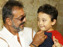 Sanjay Dutt's Six-Year-Old Son Is A Football Fanatic. How Actor Deals With His Queries