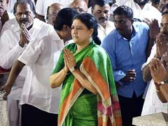 VK Sasikala's Next Move Could Be A Hunger Strike, Say Sources