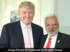 Man Angling To Be US Envoy To India Shares Trump's Love Of The Limelight