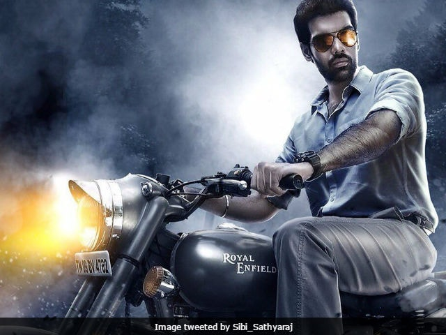 Sibiraj Shares Sathya's First Look Poster