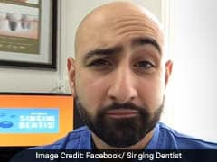 Singing Dentist's Cover Of Ed Sheeran's 'Shape Of You' Viewed 12 million Times. Brush Along!