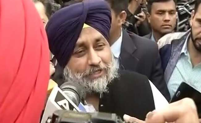 Sukhbir Badal Calls For Immediate Action On Akali Workers Death