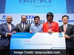 Indian Students Of National University of Singapore Win Tata Quiz 2017