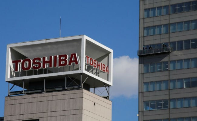 Toshiba values its chip unit at atleast 2 trillion yen ($18 billion).