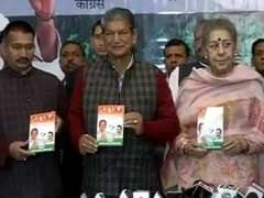 Uttarakhand Elections 2017: Congress Releases Manifesto, Promises To Reverse Migration
