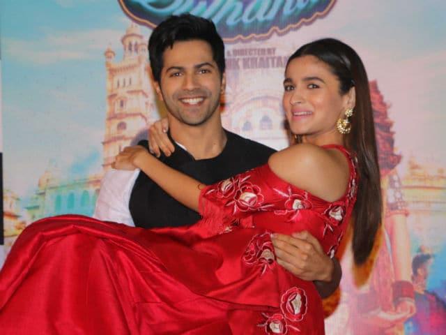 Varun Dhawan And Alia Bhatt Varun Dhawan Sa...
