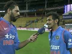 Yuvraj Singh, Yuzvendra Chahal's DDLJ Moment During T20I Win