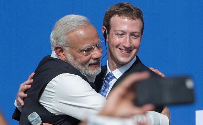 In a post, Mark Zuckerberg cited PM Modi's example for connecting social media directly to citizens.