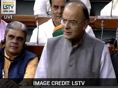Finance Minister Arun Jaitley Briefs Lawmakers About GST Bills Introduced In Lok Sabha