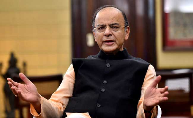Arun Jaitley said that the cess on tobacco products and luxury goods has been capped at 15 per cent.