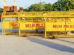 Terror Threat In Delhi On Yoga Day, Empty Buses Used As Barricades