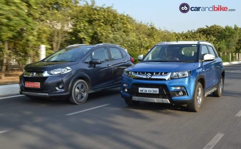 Honda WR-V vs Maruti Suzuki Vitara Brezza: Specifications Comparison - NDTV CarAndBike