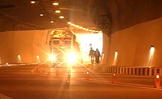 India's Longest Road Tunnel Connecting Jammu And Srinagar Will Be Open For Public Usage By March-End