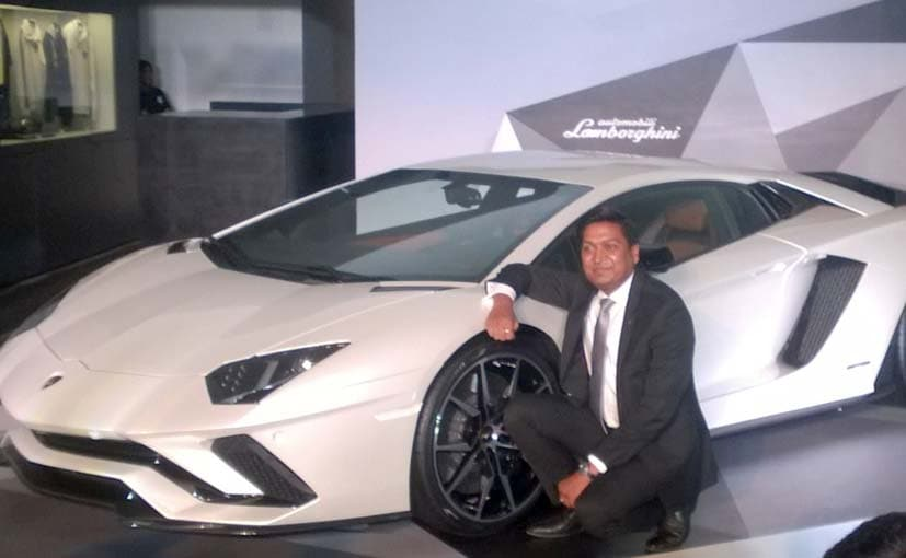 Lamborghini launches the Aventador S in India