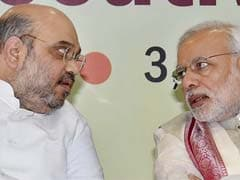 Laddoo In Hand, Amit Shah Sets The BJP A New Target
