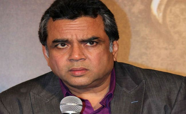 Tie Arundhati Roy in front of Army jeep: Paresh Rawal
