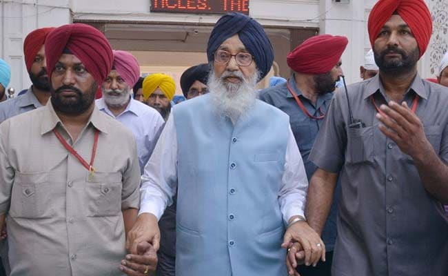 Thanks But No Thanks, Parkash Singh Badal Says To Chief Minister's Offer