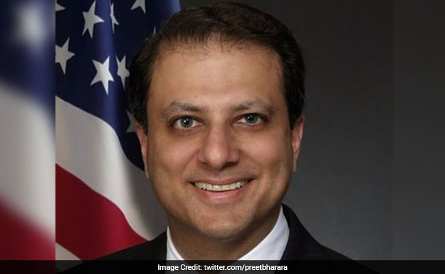 Preet Bharara said he is very proud of his Indian heritage.