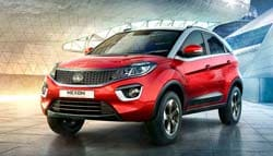 Production Ready Tata Nexon Spotted Undisguised