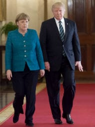 Europe Can No Longer Rely On 'Others,' Merkel Says After Trump's Visit