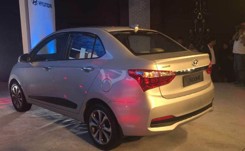 2017 hyundai xcent facelift rear launch