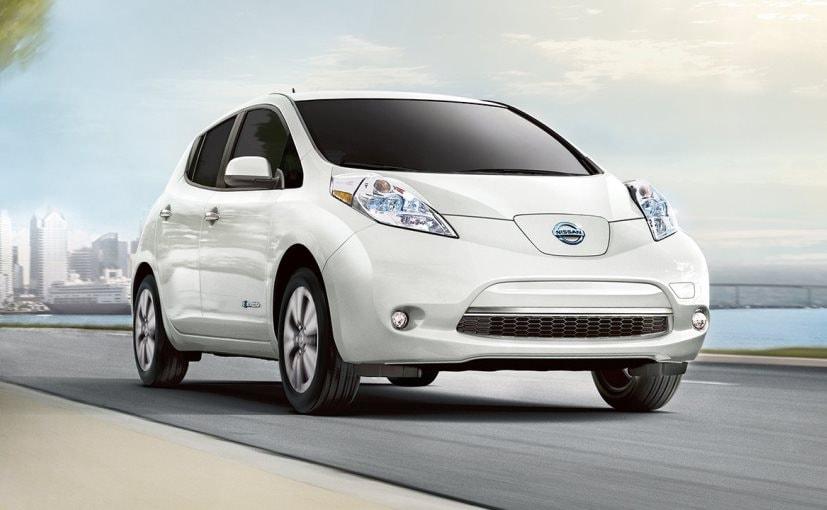 2017 nissan leaf electric car