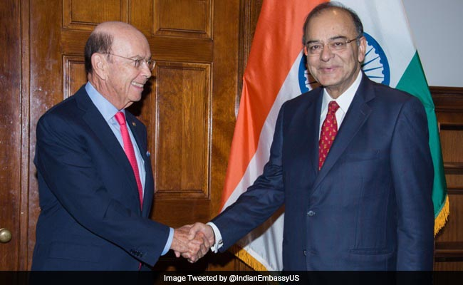 Finance Minister Arun Jaitley has raised the H-1B visa issue with US Commerce Secretary Wilbur Ross.