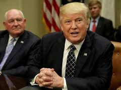 US President Donald Trump Proposes Steep Cuts To Corporate Tax
