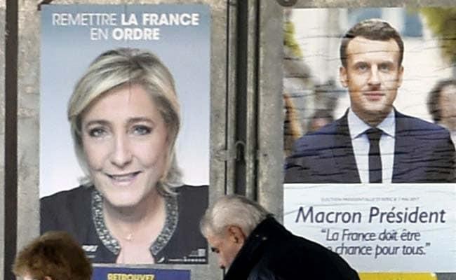 Emmanuel Macron Marine Le Pen Vie To Embody Change In Presidential Run-Off