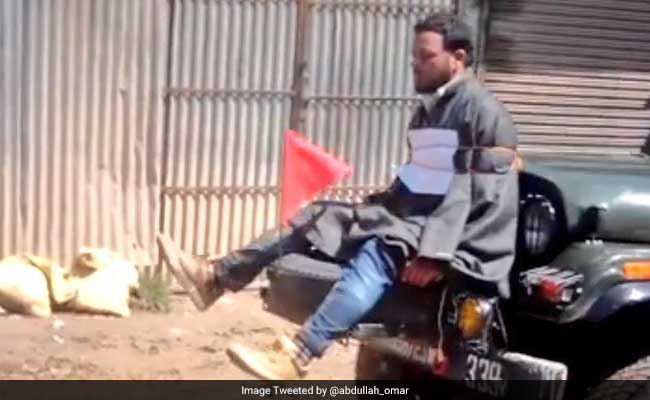 Kashmiri Man Tied To Jeep Denies He Was Instigating Protesters