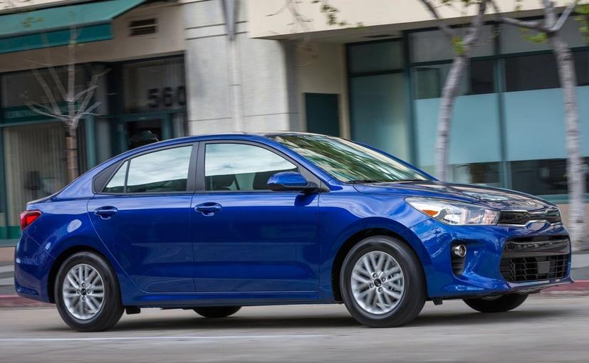 kia rio sedan will be made at indian factory