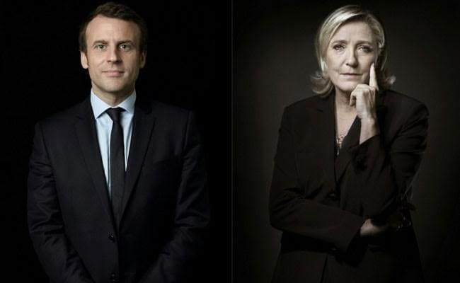 Emmanuel Macron, Marine Le Pen: Clashing Visions For France's Future