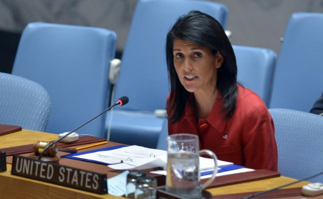 US Committed To Curbing Climate Change: Nikki Haley