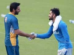 Champions Trophy 2017: Afridi Heaps Praise on Kohli, Terms India Favorites to Beat Pakistan