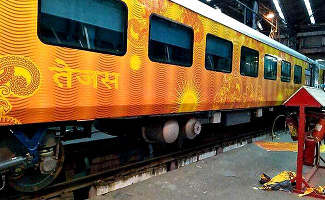 Tejas Express' coaches are capable of running at a speed of 200 kmph