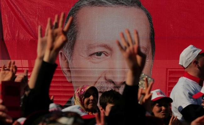 Opposition calls for Turkish vote annulment after Erdogan wins powers
