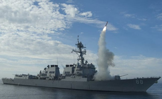 USA launches cruise missiles in Syria
