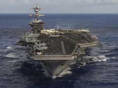 US Warship Carl Vinson In West Pacific For Navy Drills With Japan