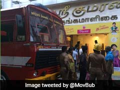 Fire In Multi-Storey Textile Showroom In Chennai, 12 Employees Rescued