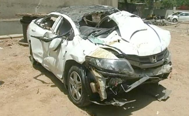 Car Accident In Punjabi Bagh