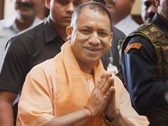 Yogi Adityanath Visits Family Of BSF Soldier Killed In Pak Attack On Line Of Control