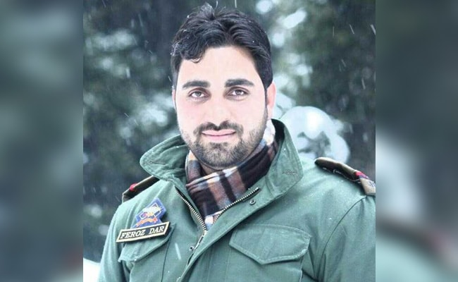 Tearful Farewell To Jammu And Kashmir Cop Feroz Ahmed Dar Who Spoke Of Death And Peace