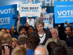 Britain's Jeremy Corbyn Calls For PM Theresa May To Quit After Election Losses
