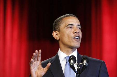America is not at war with Islam, asserts Obama