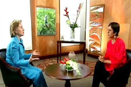 Action against Saeed in Pak's interest: Hillary Clinton