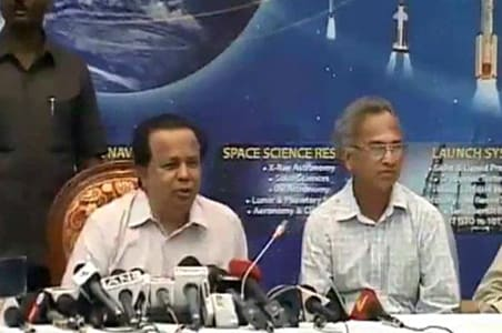 Did India beat NASA to find water on moon?
