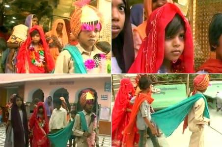 Rajasthan endorsing child marriage?