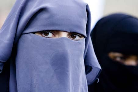 MPs panel in Belgium approves banning burqa