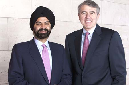 Ajay Banga is the new MasterCard CEO